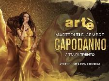 Capodanno Arte Discoteca e Show Cenone a Trento Locandina